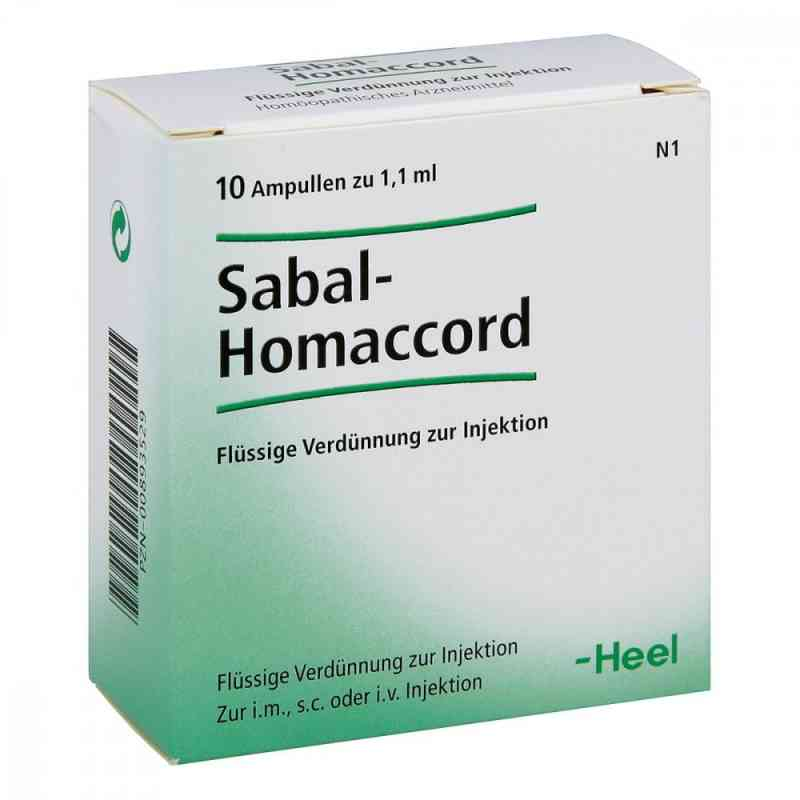 Sabal Homaccord Ampullen  bei versandapo.de bestellen