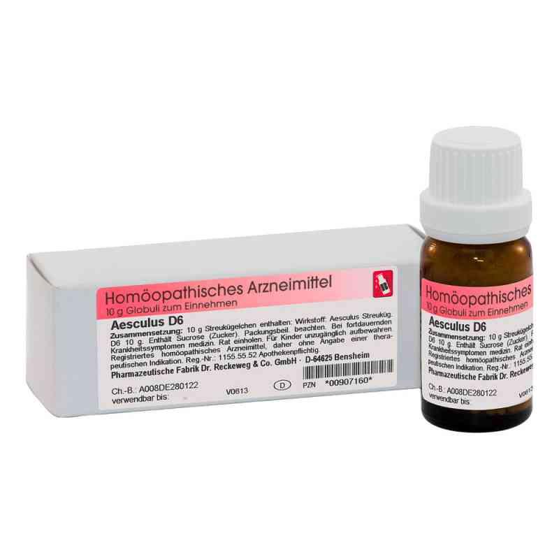 Aesculus D 6 Globuli  bei versandapo.de bestellen