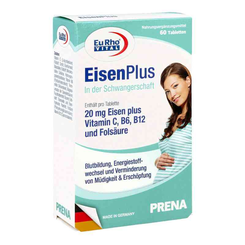 Eurho Vital Eisen Plus Tabletten  bei versandapo.de bestellen