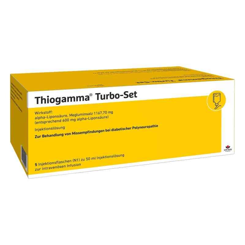 Thiogamma Turbo Set Injektionsflaschen  bei versandapo.de bestellen