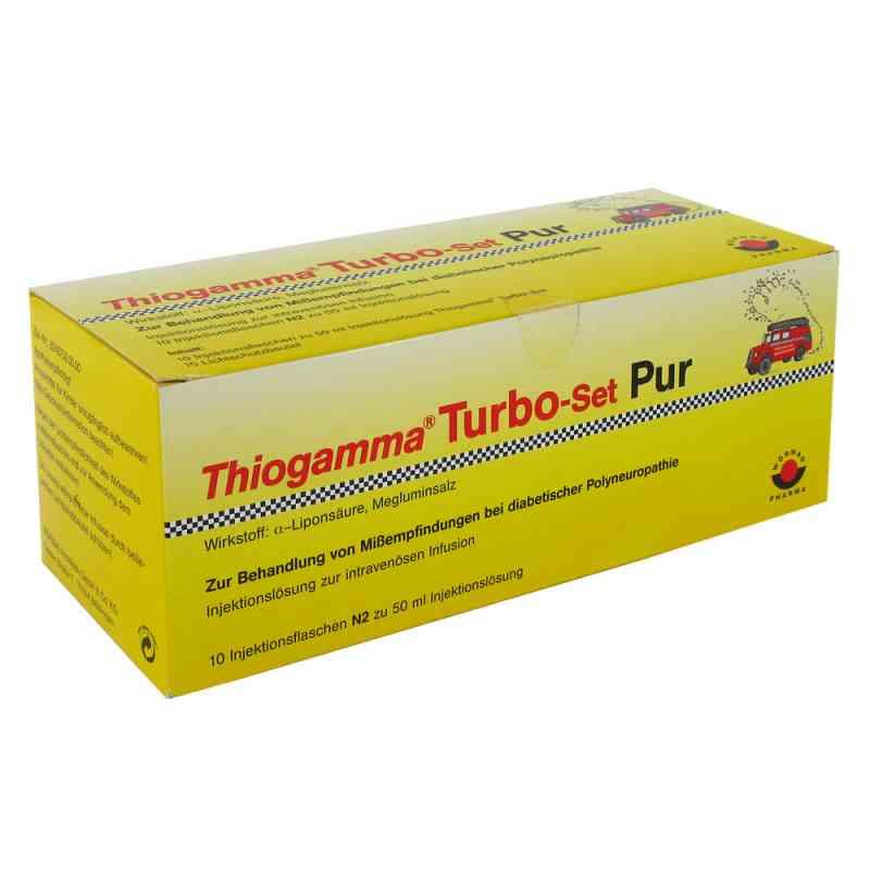 Thiogamma Turbo Set Pur Injektionsflaschen  bei versandapo.de bestellen