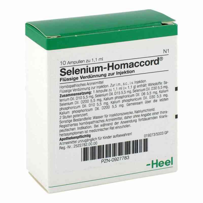 Selenium Homaccord Ampullen  bei versandapo.de bestellen