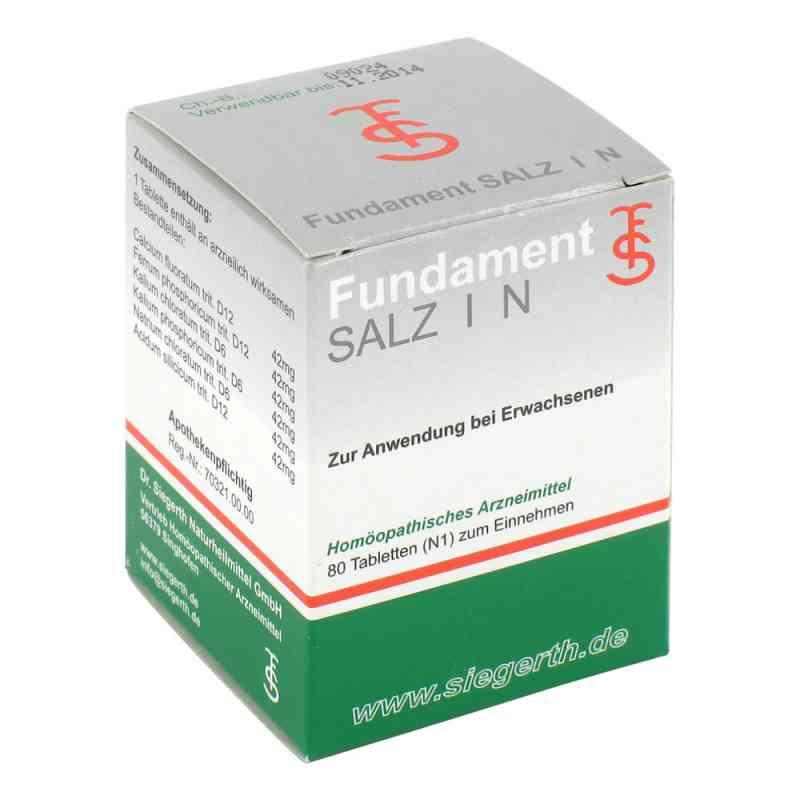 Fundament Salz I N Tabletten  bei versandapo.de bestellen