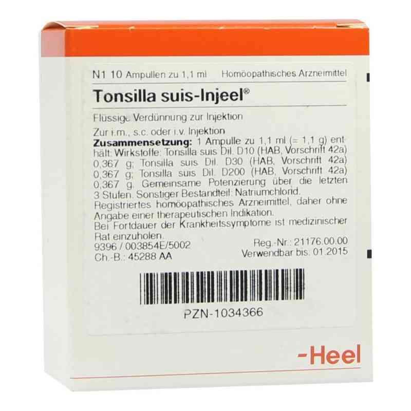 Tonsilla Suis Injeel Ampullen  bei versandapo.de bestellen