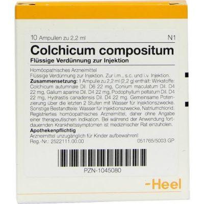 Colchicum Compositum Ampullen  bei versandapo.de bestellen