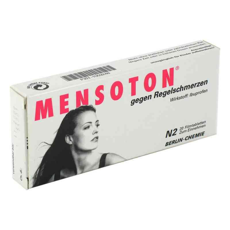 MENSOTON gegen Regelschmerzen  bei versandapo.de bestellen