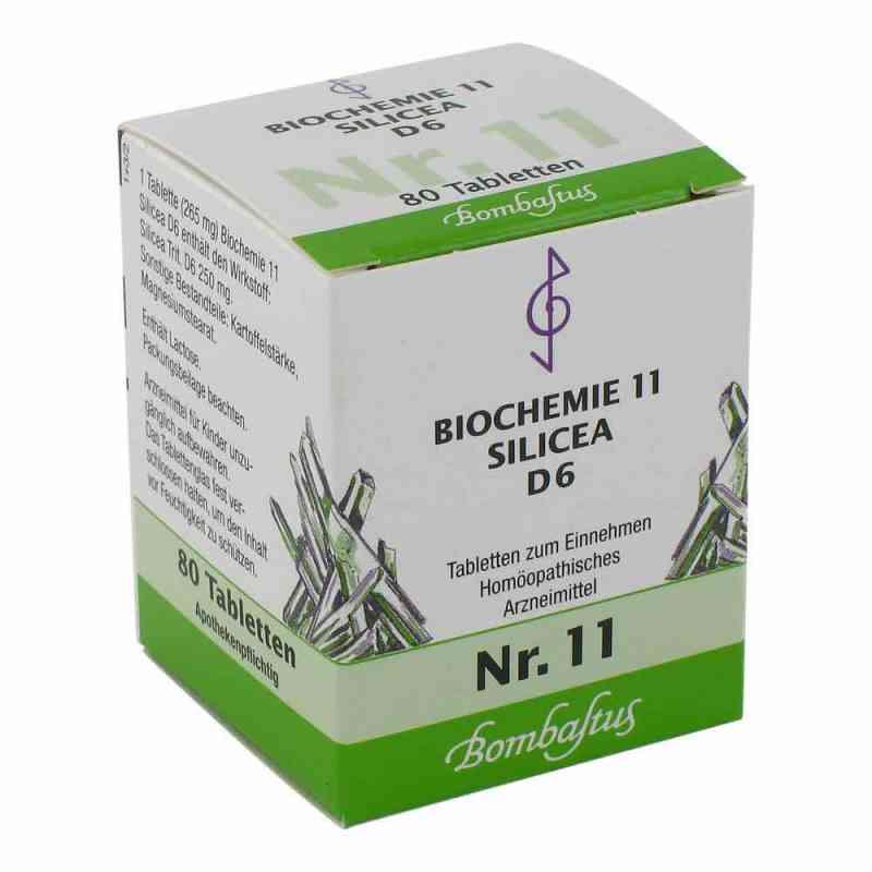 Biochemie 11 Silicea D 6 Tabletten  bei versandapo.de bestellen