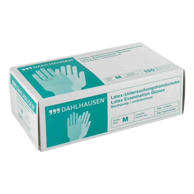 Handschuhe Latex ungepudert Größe m  bei versandapo.de bestellen