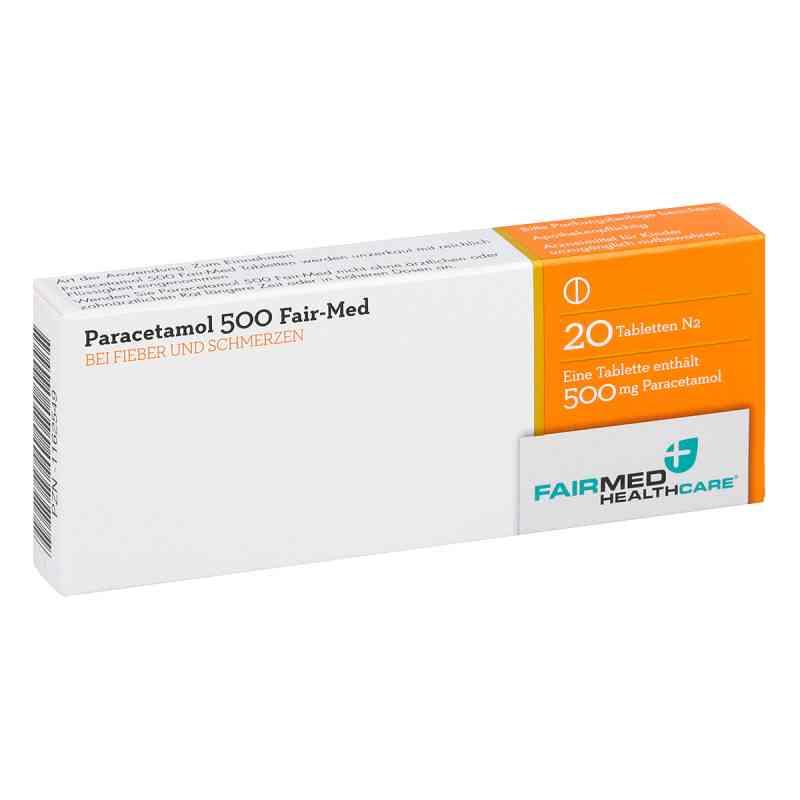 Paracetamol 500 Fair-Med  bei versandapo.de bestellen