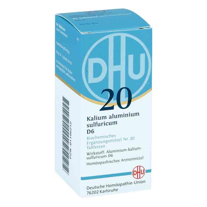 Biochemie Dhu 20 Kalium alum.sulfur. D 6 Tabletten  bei versandapo.de bestellen