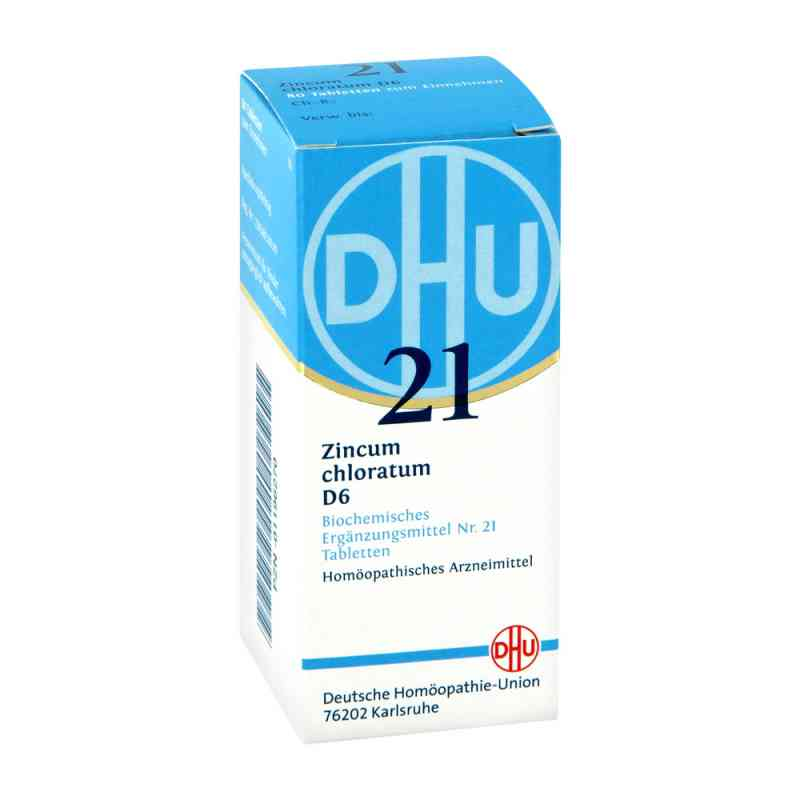 Biochemie Dhu 21 Zincum chloratum D 6 Tabletten  bei versandapo.de bestellen