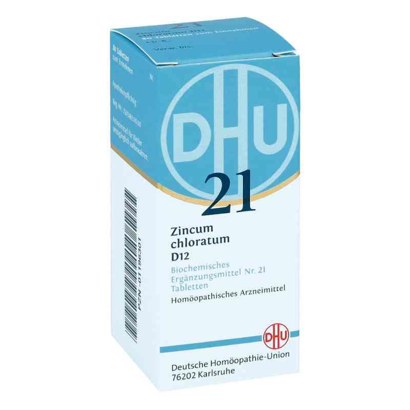 Biochemie Dhu 21 Zincum chloratum D 12 Tabletten  bei versandapo.de bestellen