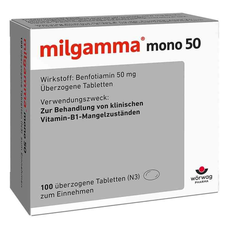 Milgamma mono 50 überzogene Tabletten  bei versandapo.de bestellen