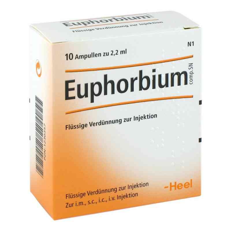 Euphorbium Compositum Sn Ampullen  bei versandapo.de bestellen