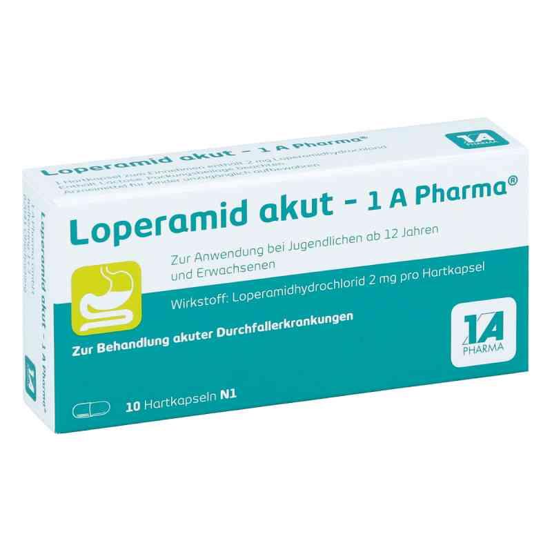 Loperamid akut-1A Pharma  bei versandapo.de bestellen