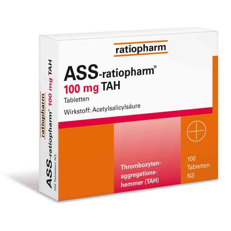 ASS-ratiopharm 100mg TAH  bei versandapo.de bestellen
