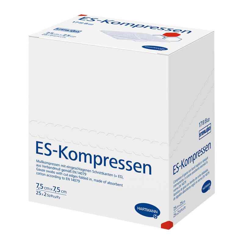 Es-kompressen steril 7,5x7,5 cm 8fach  bei versandapo.de bestellen
