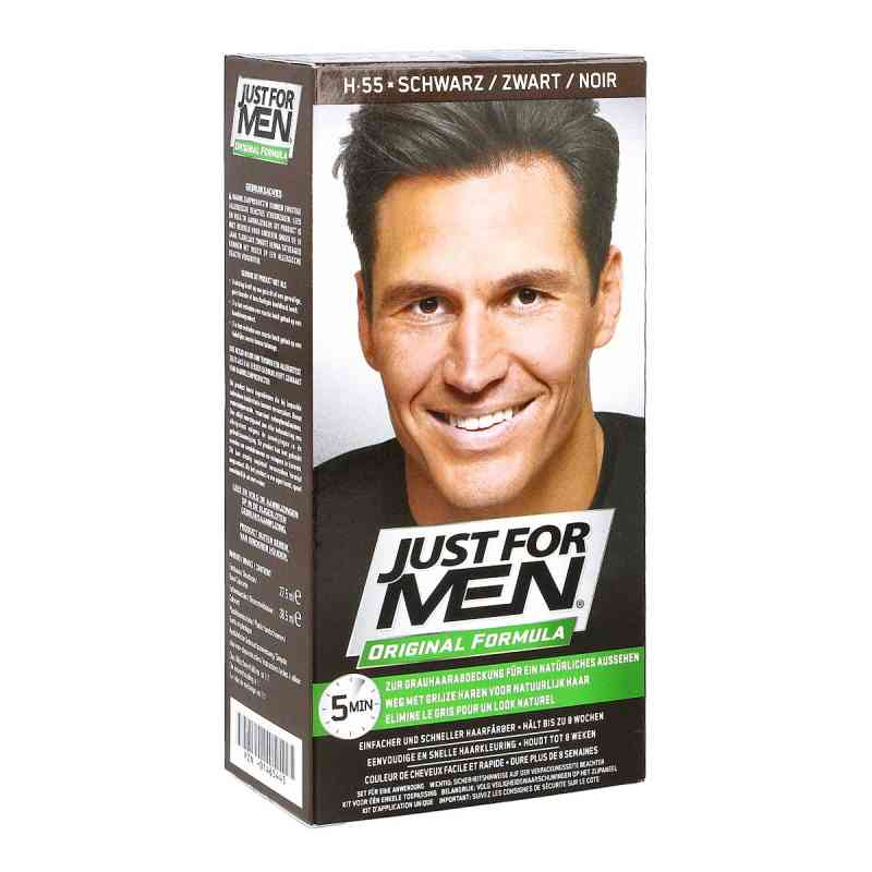 Just for men Tönungsshampoo schwarz  bei versandapo.de bestellen