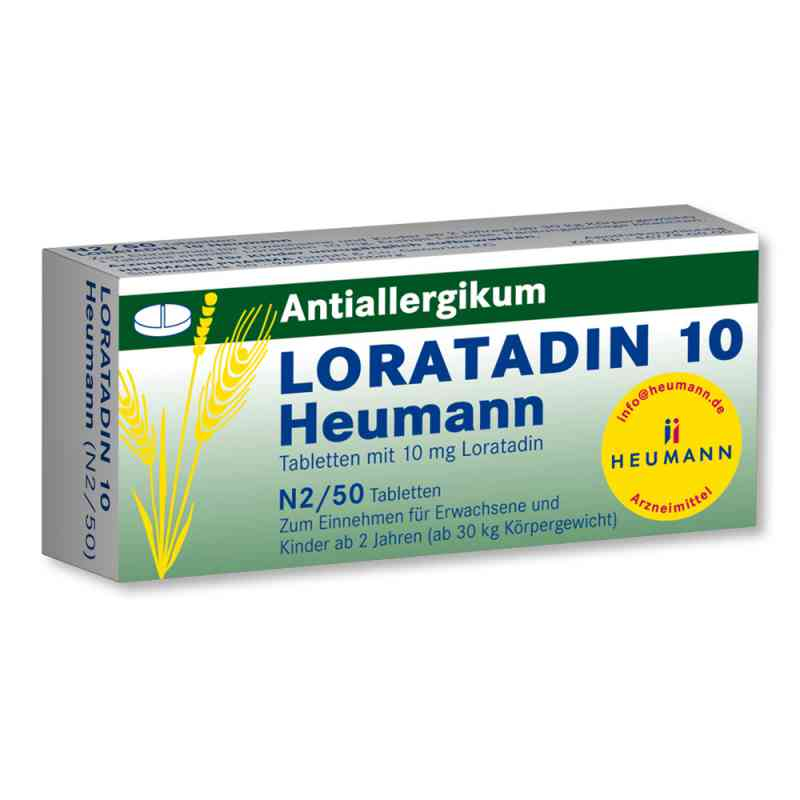 Loratadin 10 Heumann  bei versandapo.de bestellen