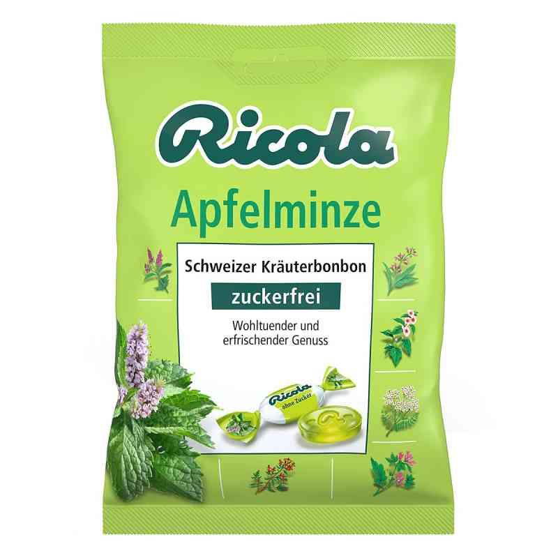 Ricola ohne Zucker  Apfelminze Bonbons  bei versandapo.de bestellen