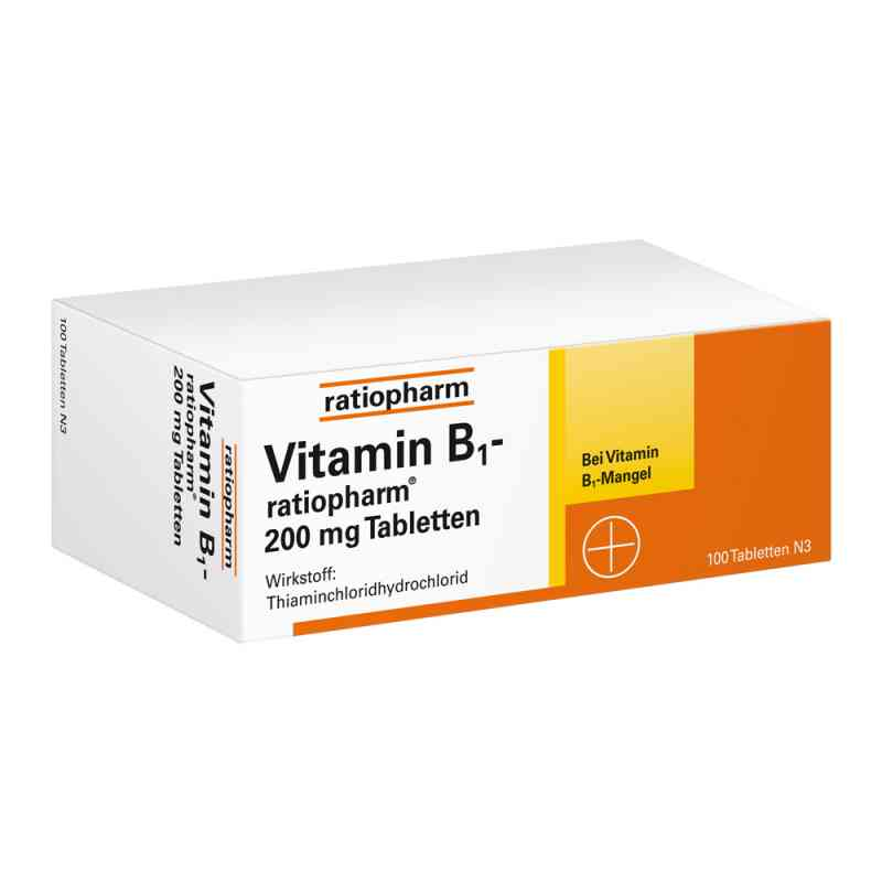 Vitamin B1 ratiopharm 200 mg Tabletten  bei versandapo.de bestellen