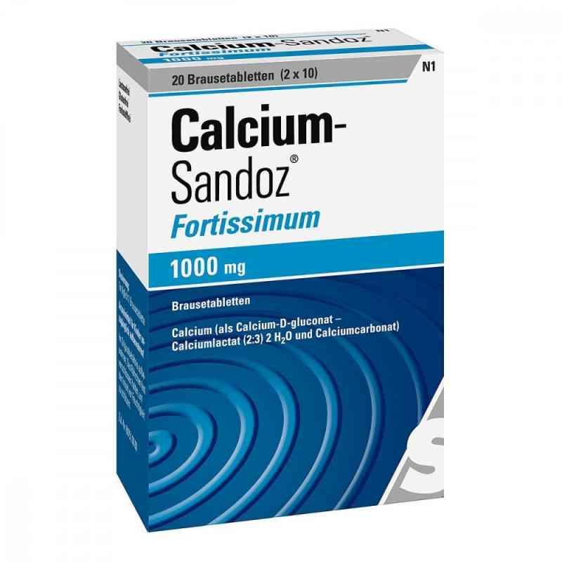 Calcium-Sandoz fortissimum 1000mg  bei versandapo.de bestellen