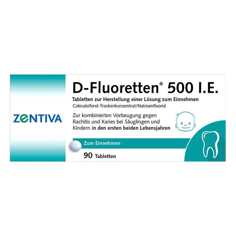 D-Fluoretten 500 I.E.  bei versandapo.de bestellen