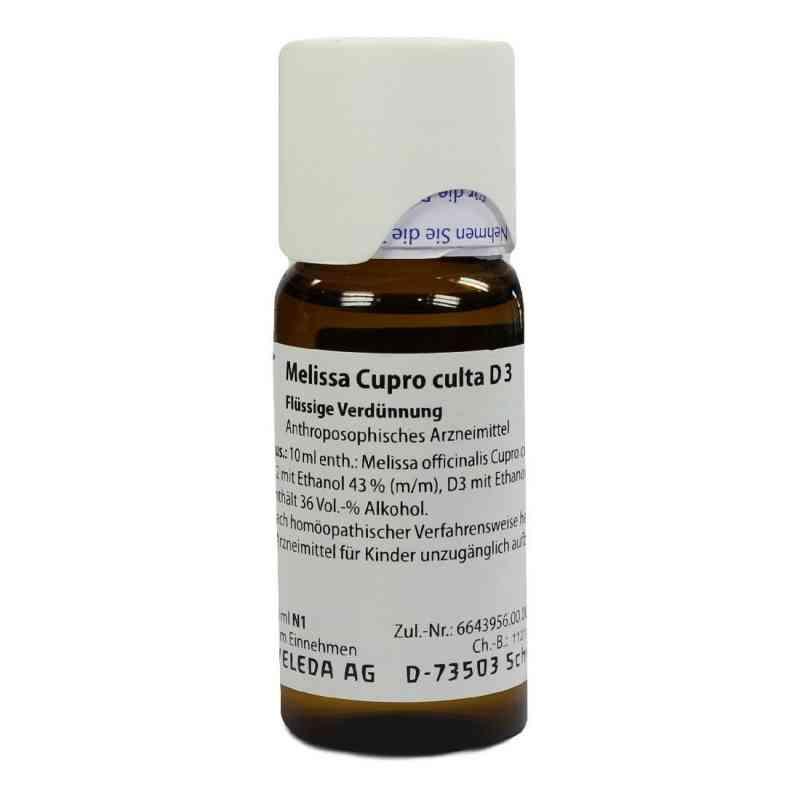Melissa Cupro Culta D 3 Dilution  bei versandapo.de bestellen