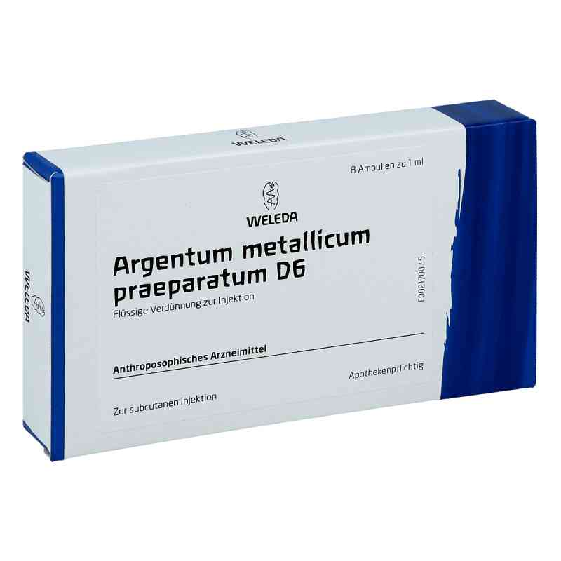 Argentum Metallicum Praep. D 6 Ampullen  bei versandapo.de bestellen