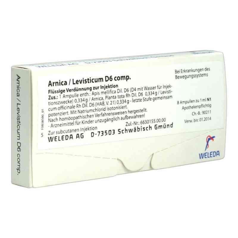 Arnica/levisticum D 6 Comp. Ampullen  bei versandapo.de bestellen