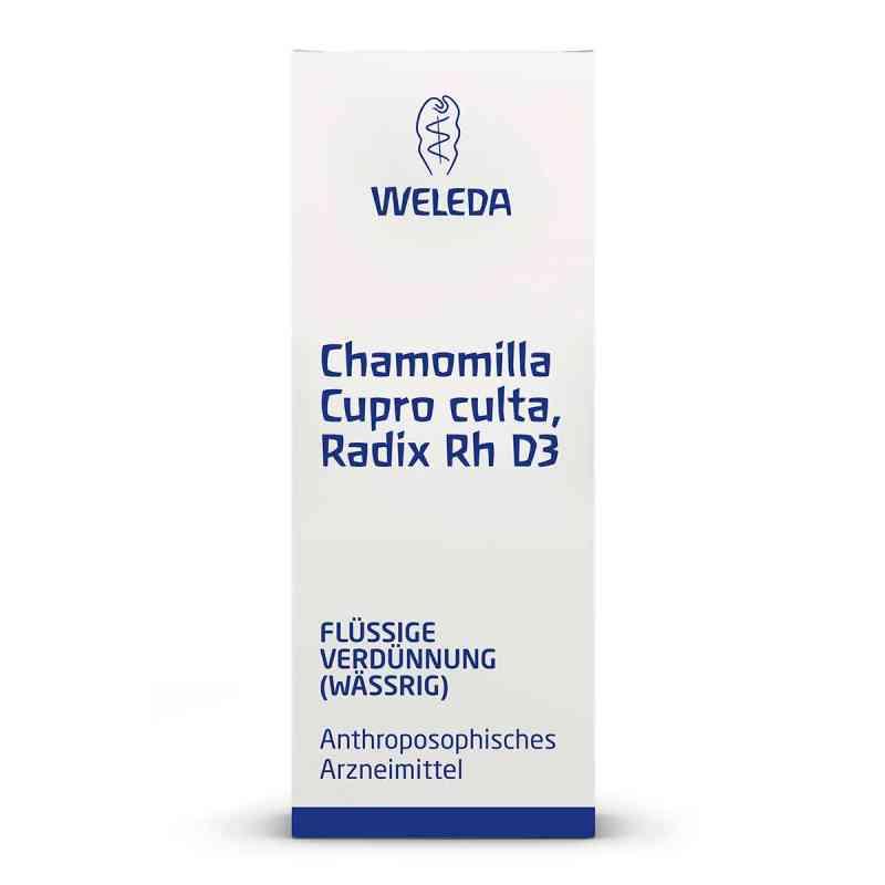 Chamomilla Cupro culta Radix Rh D 3 Dilution  bei versandapo.de bestellen