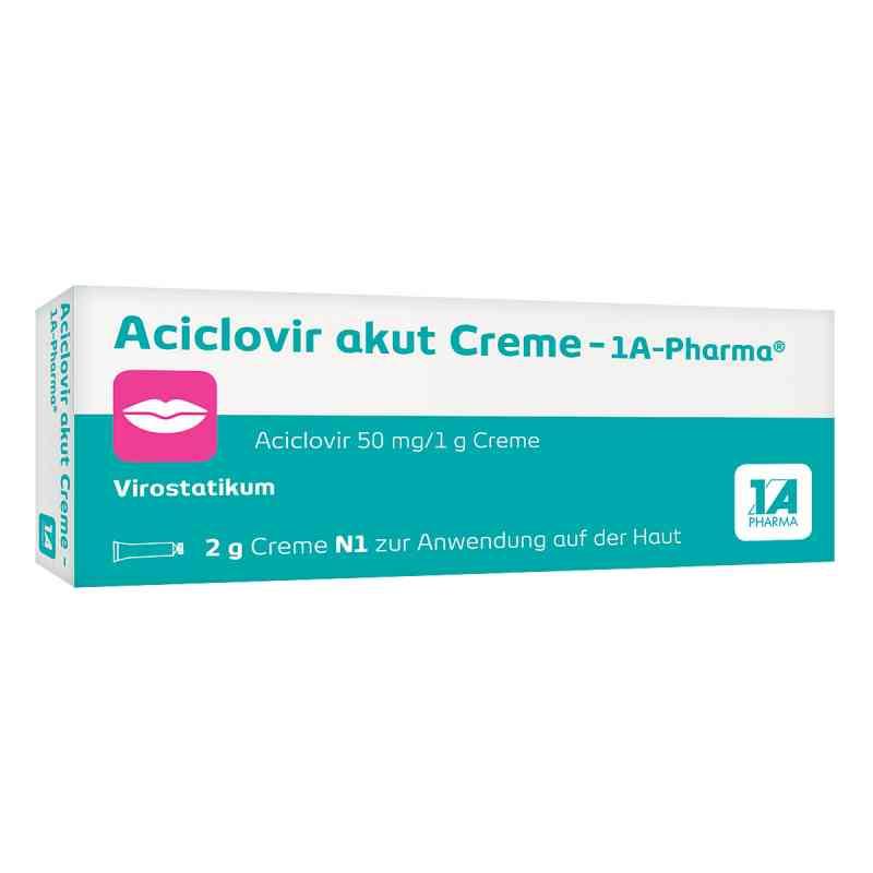 Aciclovir akut Creme-1A Pharma  bei versandapo.de bestellen