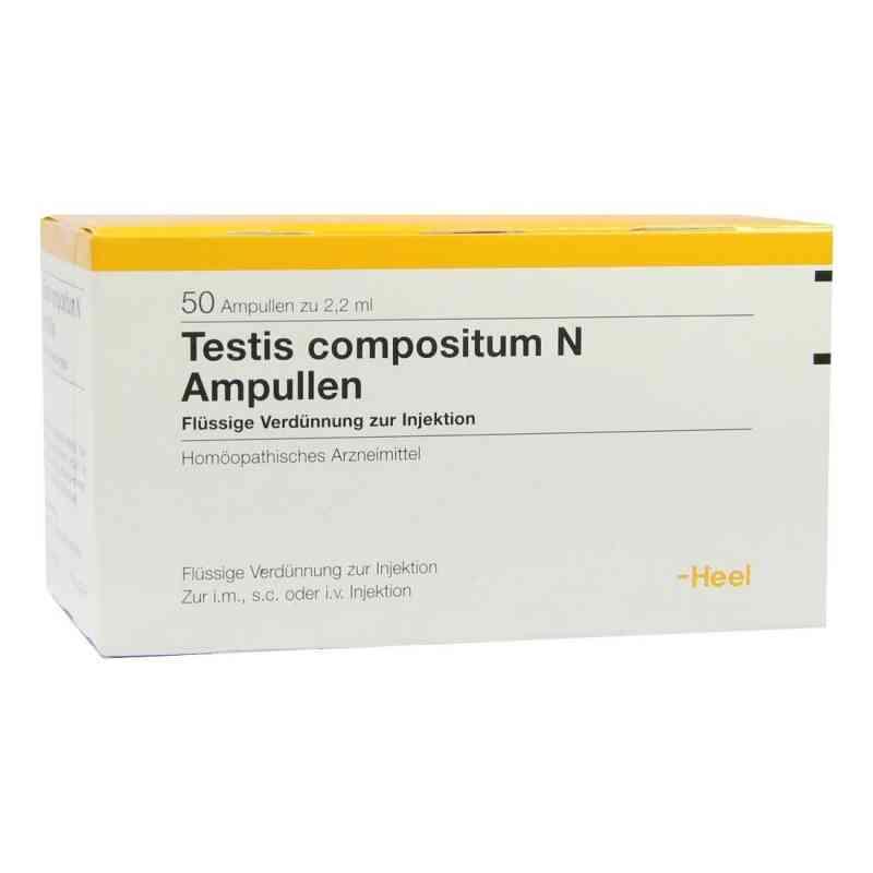 Testis Compositum N Ampullen  bei versandapo.de bestellen