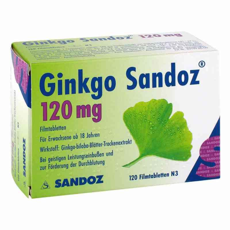 Ginkgo Sandoz 120mg  bei versandapo.de bestellen