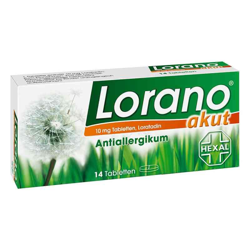 Lorano akut  bei versandapo.de bestellen