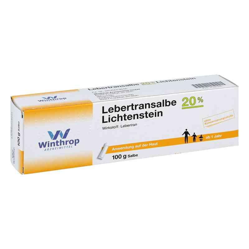 Lebertransalbe 20% Lichtenstein  bei versandapo.de bestellen