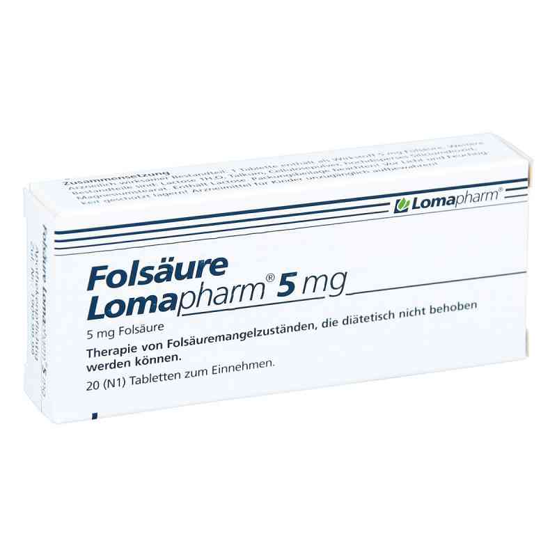 Folsäure Lomapharm 5 mg Tabletten  bei versandapo.de bestellen
