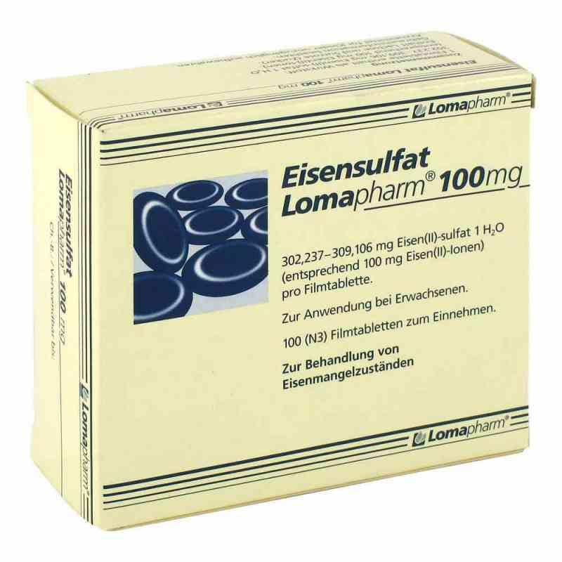 Eisensulfat Lomapharm 100mg  bei versandapo.de bestellen
