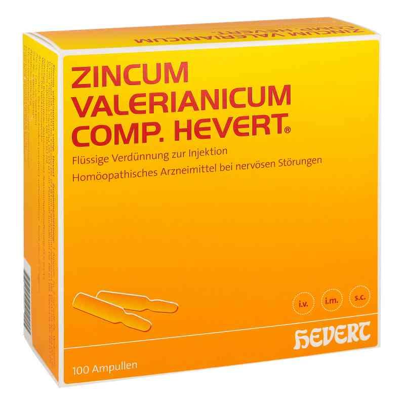 Zincum Valerianicum compositus  Hevert Ampullen  bei versandapo.de bestellen