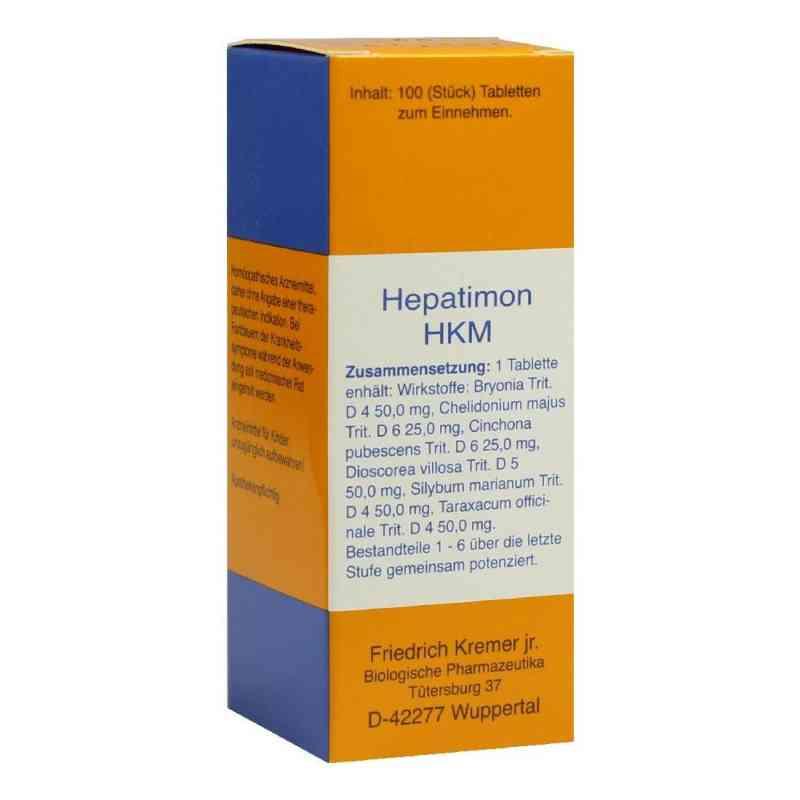 Hepatimon Hkm Tabletten  bei versandapo.de bestellen