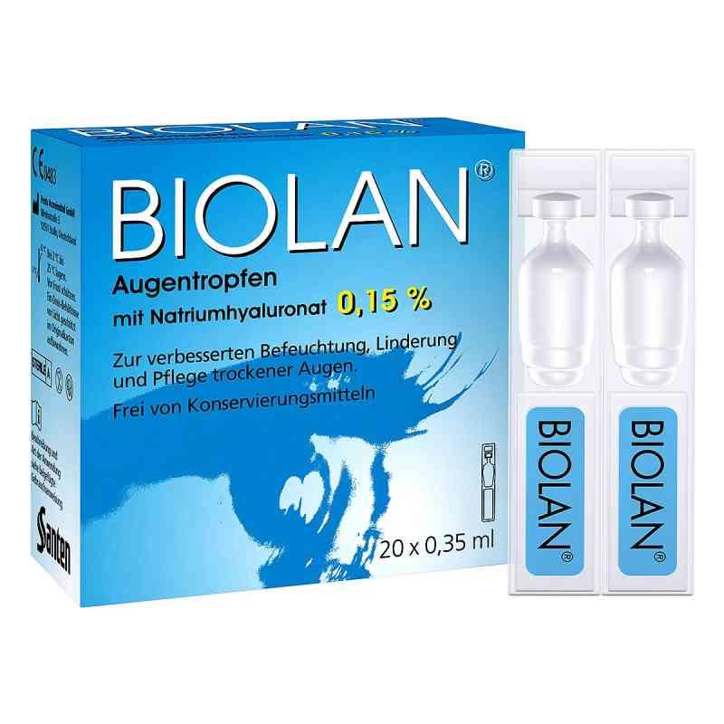 Biolan Augentropfen Einzeldosispipetten  bei versandapo.de bestellen