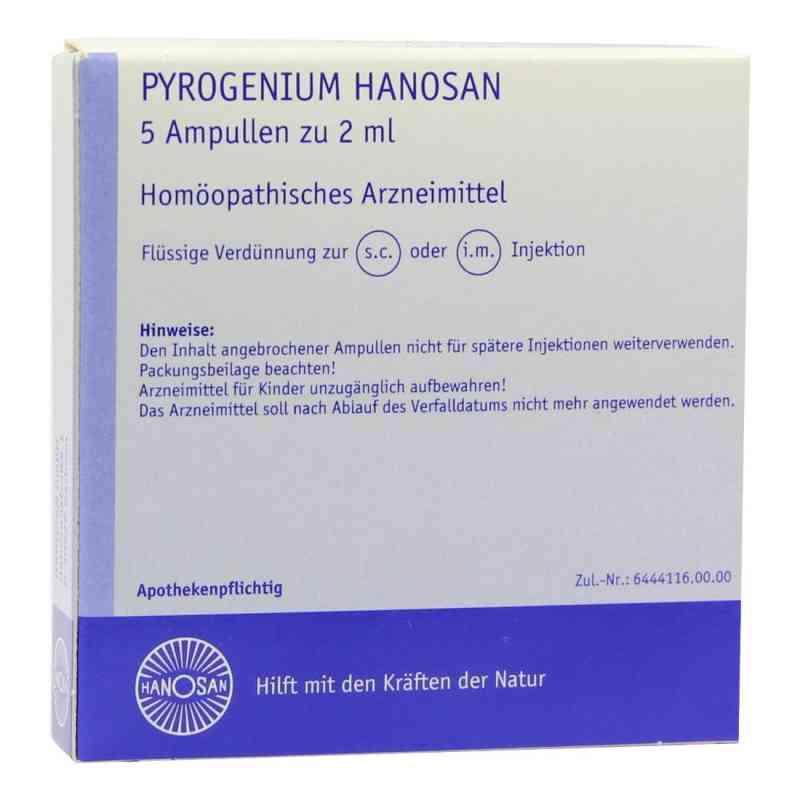Pyrogenium Hanosan Injektionslösung  bei versandapo.de bestellen