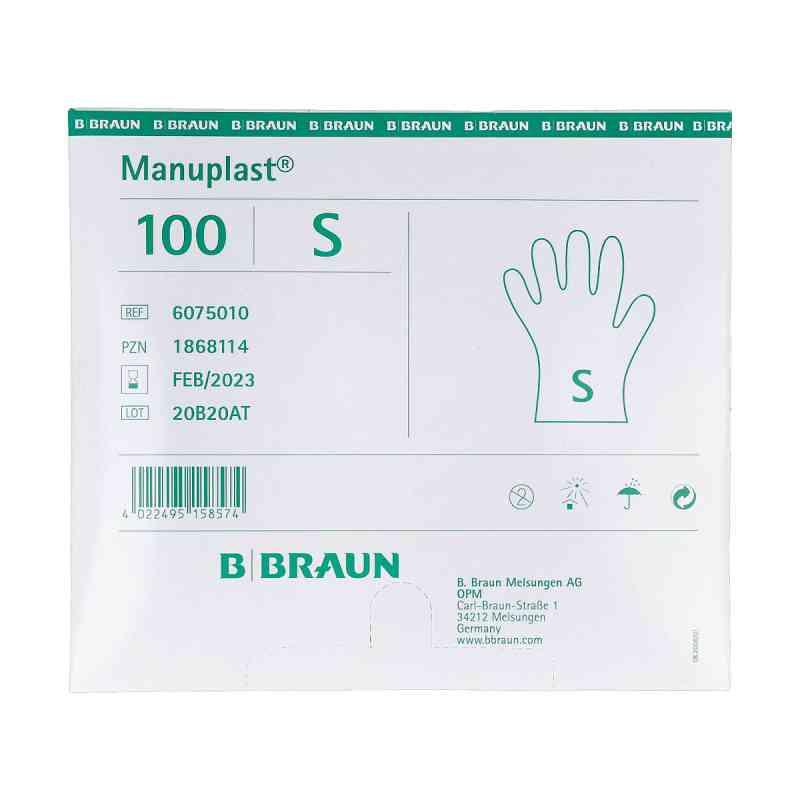 Manuplast Einmal Handschuhe Pe klein  bei versandapo.de bestellen