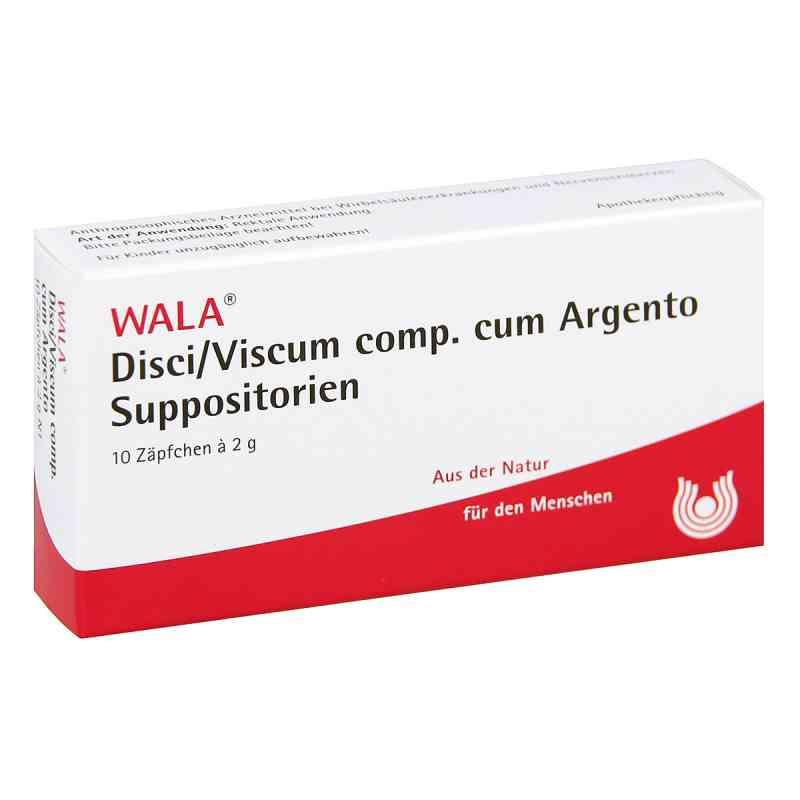 Disci/ Viscum Comp. cum  Argento Suppositorien  bei versandapo.de bestellen