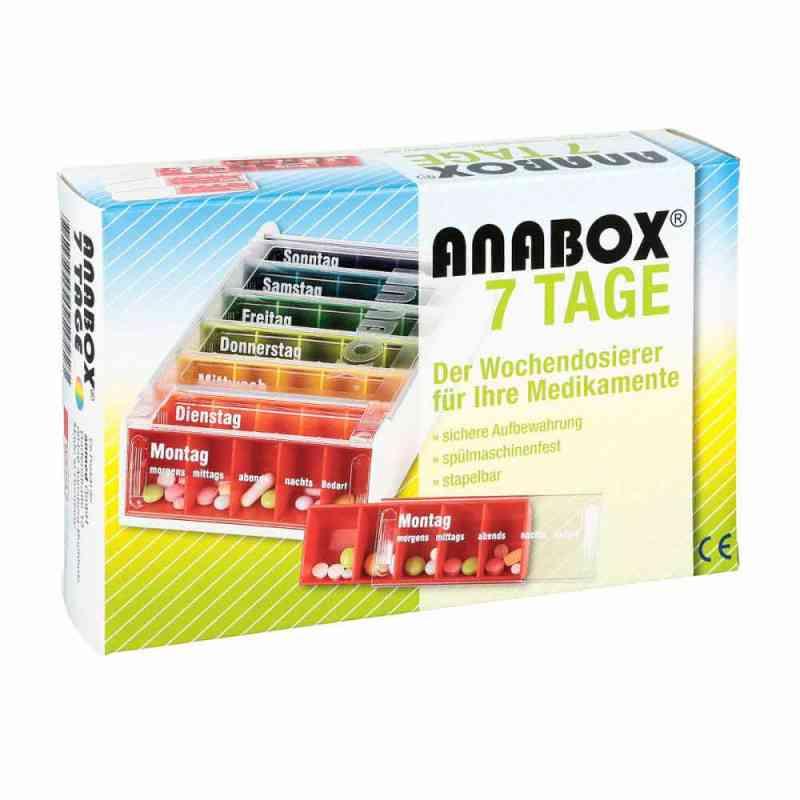 Anabox 7 Tage Regenbogen  bei versandapo.de bestellen