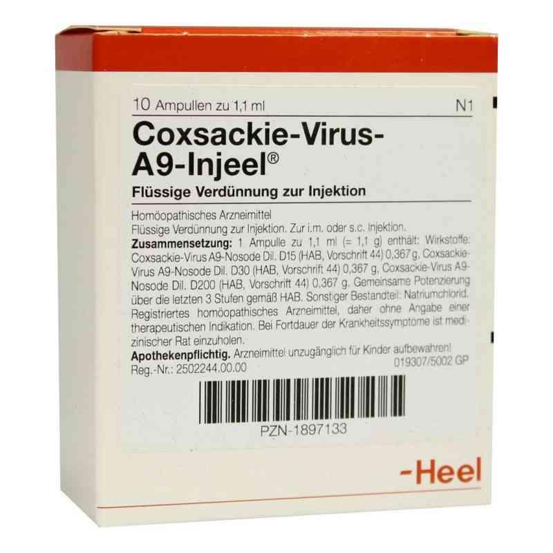 Coxsackie-virus A9 Injeel Ampullen  bei versandapo.de bestellen