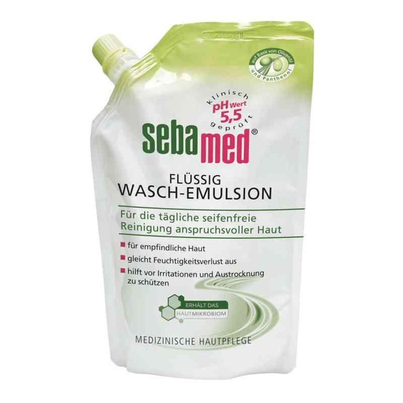 Sebamed flüssig Waschemulsion mit Olive Nachfüllpackung p.  bei versandapo.de bestellen