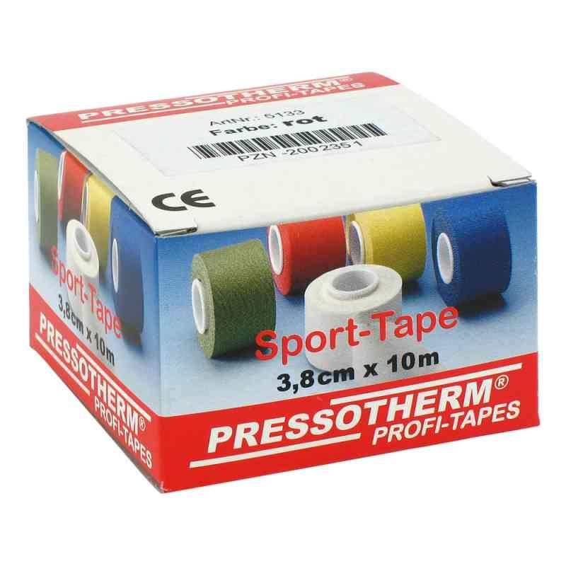 Pressotherm Sport-tape 3,8cmx10m rot  bei versandapo.de bestellen