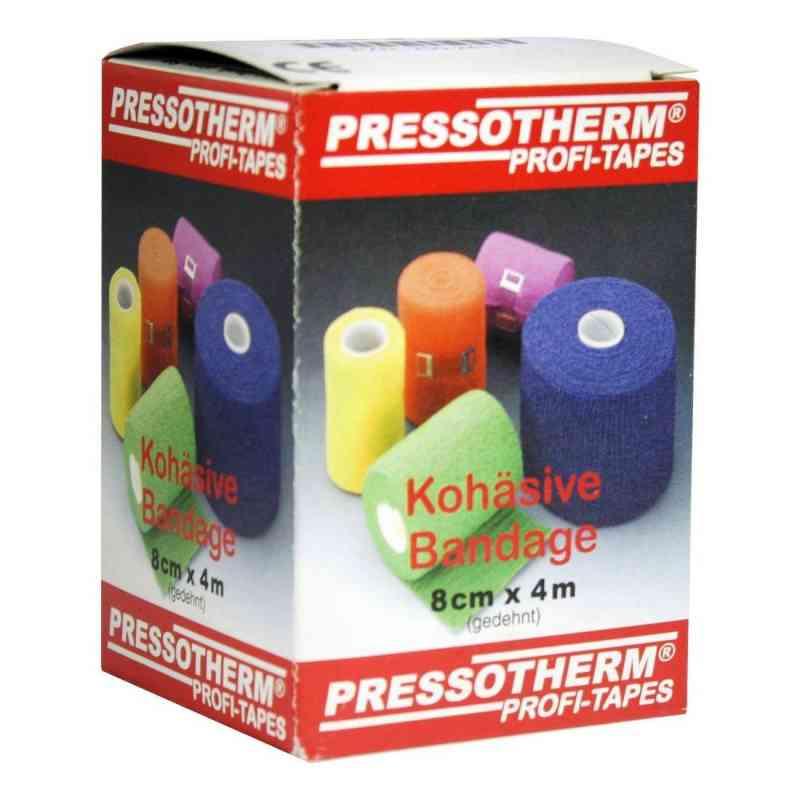 Pressotherm Kohäsive Bandage 8cmx4m grün  bei versandapo.de bestellen