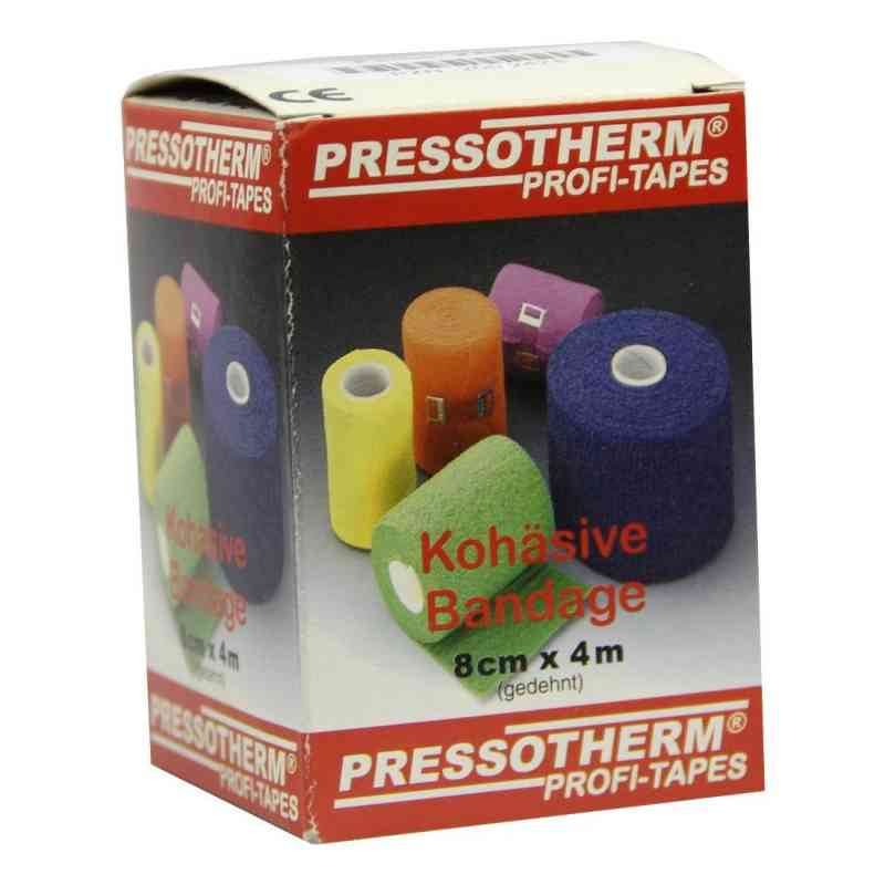 Pressotherm Kohäsive Bandage 8cmx4m rot  bei versandapo.de bestellen